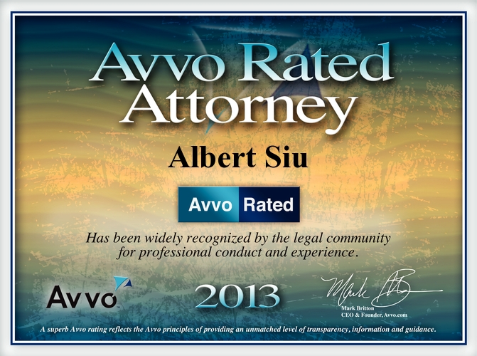 avvo rated